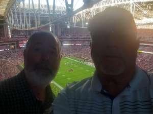 Robert attended Arizona Cardinals vs. Los Angeles Rams - NFL on Dec 1st 2019 via VetTix