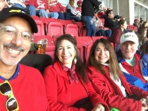 Paula attended Arizona Cardinals vs. Los Angeles Rams - NFL on Dec 1st 2019 via VetTix