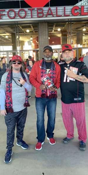 david attended Arizona Cardinals vs. Los Angeles Rams - NFL on Dec 1st 2019 via VetTix