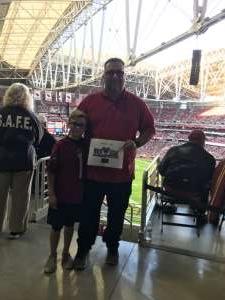 Lance attended Arizona Cardinals vs. Los Angeles Rams - NFL on Dec 1st 2019 via VetTix