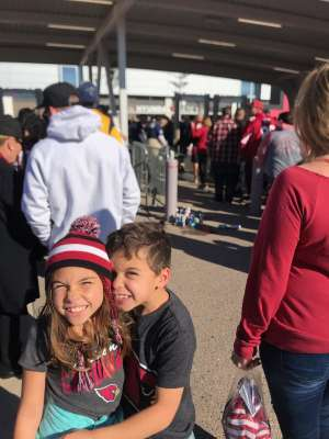 Joseph attended Arizona Cardinals vs. Los Angeles Rams - NFL on Dec 1st 2019 via VetTix