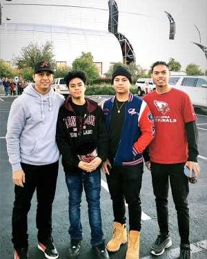 Kevin A.  attended Arizona Cardinals vs. Los Angeles Rams - NFL on Dec 1st 2019 via VetTix