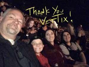Karl attended The Chainsmokers/5 Seconds of Summer/lennon Stella: World War Joy Tour on Nov 26th 2019 via VetTix