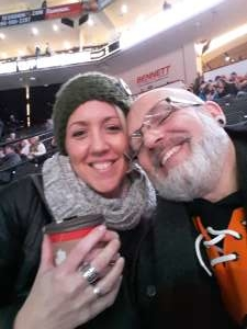 Jody attended Lehigh Valley Phantoms vs. Hartford Wolfpack - AHL on Nov 30th 2019 via VetTix