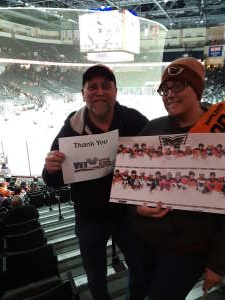 KerryW attended Lehigh Valley Phantoms vs. Hartford Wolfpack - AHL on Nov 30th 2019 via VetTix