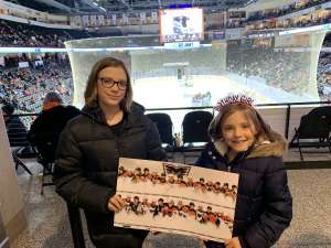 Darren attended Lehigh Valley Phantoms vs. Hartford Wolfpack - AHL on Nov 30th 2019 via VetTix