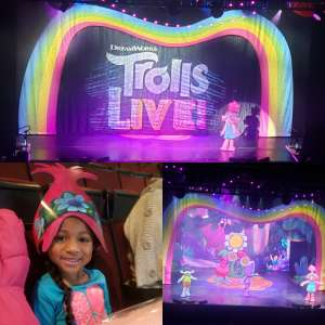 Ashely attended Trolls Live! - Presented by Vstar Entertainment on Dec 8th 2019 via VetTix