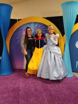 Jennifer attended Disney on Ice: Celebrate Memories on Jan 17th 2020 via VetTix