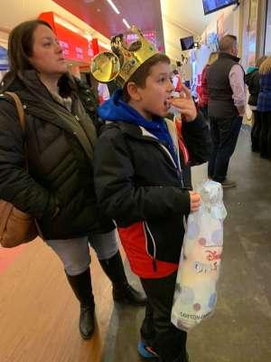 Alexis attended Disney on Ice: Celebrate Memories on Jan 17th 2020 via VetTix