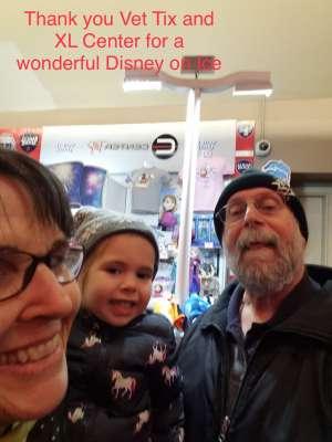 Corey attended Disney on Ice: Celebrate Memories on Jan 17th 2020 via VetTix