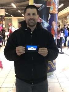 Johnathan attended Disney on Ice: Celebrate Memories on Jan 17th 2020 via VetTix