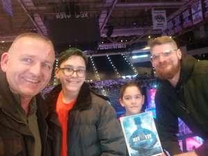 John attended Disney on Ice: Celebrate Memories on Jan 17th 2020 via VetTix