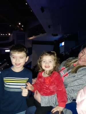 Tina-Marie attended Disney on Ice: Celebrate Memories on Jan 17th 2020 via VetTix