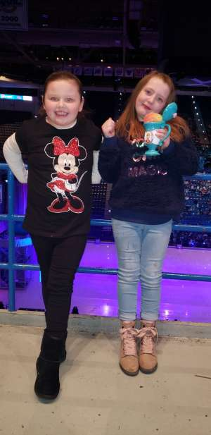 Robert attended Disney on Ice: Celebrate Memories on Jan 17th 2020 via VetTix