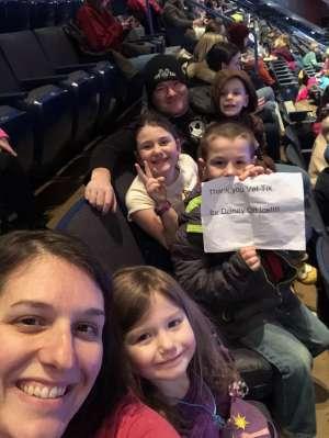 Jason attended Disney on Ice: Celebrate Memories on Jan 17th 2020 via VetTix