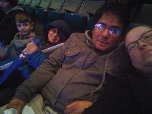 Prosenjeet attended Disney on Ice: Celebrate Memories on Jan 17th 2020 via VetTix