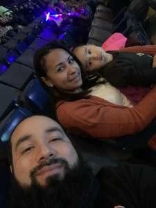 Luis attended Disney on Ice: Celebrate Memories on Jan 17th 2020 via VetTix