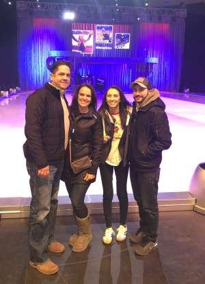 David attended Disney on Ice: Celebrate Memories on Jan 17th 2020 via VetTix