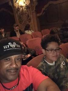 Stanley attended The Illusionists - Magic of the Holidays (touring) on Nov 29th 2019 via VetTix
