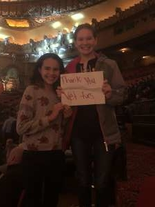 Sarah attended The Illusionists - Magic of the Holidays (touring) on Nov 29th 2019 via VetTix