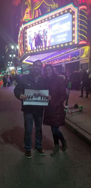 Ryan attended The Illusionists - Magic of the Holidays (touring) on Nov 29th 2019 via VetTix