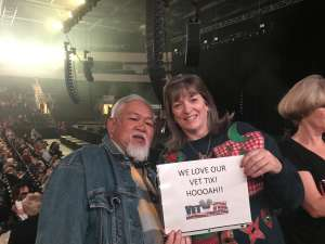 Pat attended Country & Christmas: Lee Greenwood & the Gatlin Brothers W/ Billy Dean on Dec 5th 2019 via VetTix