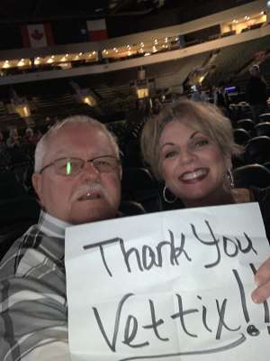 Larry attended Country & Christmas: Lee Greenwood & the Gatlin Brothers W/ Billy Dean on Dec 5th 2019 via VetTix