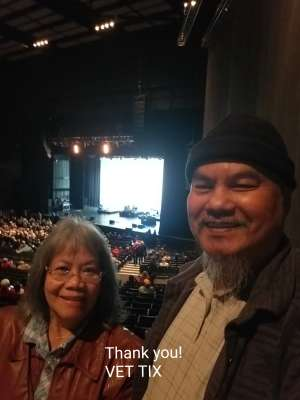 Arthur attended A Tribute To The Beatles White Album on Dec 4th 2019 via VetTix