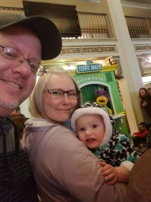 Jeff attended Sesame Street Live! Let's Party! on Mar 11th 2020 via VetTix