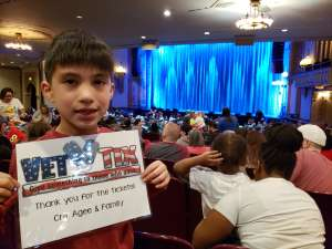 Agee Family attended Sesame Street Live! Let's Party! on Mar 11th 2020 via VetTix
