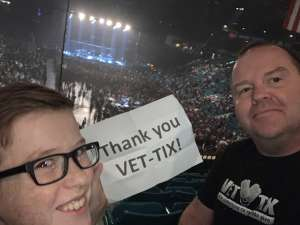 James attended Slayer the Final Campaign at MGM Grand Garden Arena on Nov 27th 2019 via VetTix