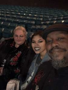 Bennie attended Slayer the Final Campaign at MGM Grand Garden Arena on Nov 27th 2019 via VetTix