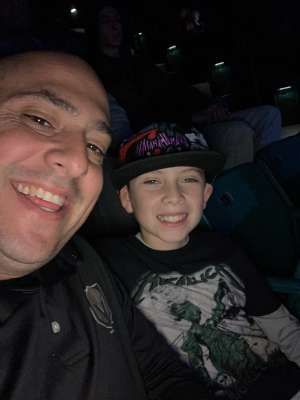 Joel attended Slayer the Final Campaign at MGM Grand Garden Arena on Nov 27th 2019 via VetTix