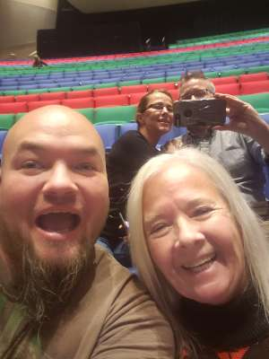 Ronald attended Larry the Cable Guy - Remain Seated Tour on Dec 2nd 2019 via VetTix