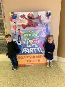 Peggy attended Sesame Street Live! Let's Party! on Jan 10th 2020 via VetTix