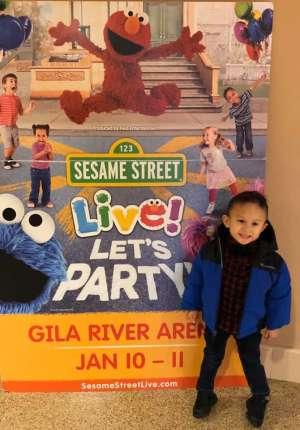 Francisco attended Sesame Street Live! Let's Party! on Jan 10th 2020 via VetTix