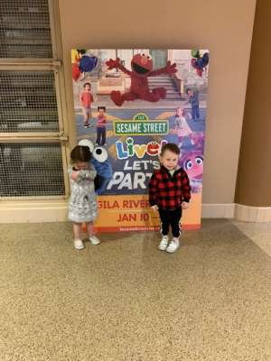 Dana attended Sesame Street Live! Let's Party! on Jan 10th 2020 via VetTix