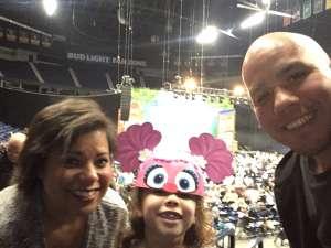 David attended Sesame Street Live! Make Your Magic on Feb 23rd 2020 via VetTix