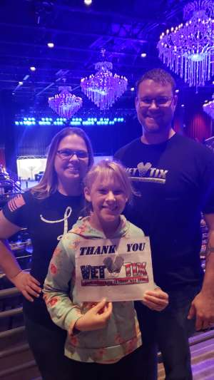 Eric attended Rock 100. 5 Mistletoe Rock Show Featuring Collective Soul on Nov 30th 2019 via VetTix
