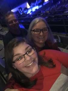 Sharon attended Rock 100. 5 Mistletoe Rock Show Featuring Collective Soul on Nov 30th 2019 via VetTix