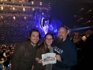 Steven attended Cher: Here We Go Again Tour on Nov 27th 2019 via VetTix