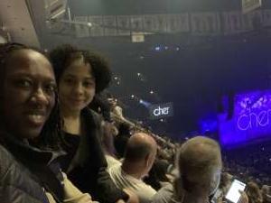 Nael attended Cher: Here We Go Again Tour on Nov 27th 2019 via VetTix