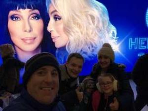 Nick attended Cher: Here We Go Again Tour on Nov 27th 2019 via VetTix