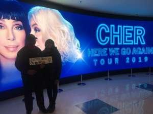 Samuel attended Cher: Here We Go Again Tour on Nov 27th 2019 via VetTix