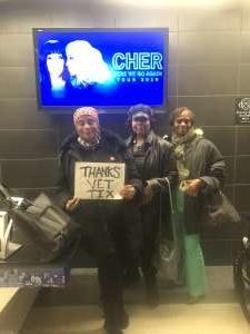 Sandra attended Cher: Here We Go Again Tour on Nov 27th 2019 via VetTix