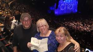 Francis attended Cher: Here We Go Again Tour on Dec 4th 2019 via VetTix