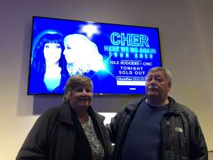 Alfred attended Cher: Here We Go Again Tour on Dec 4th 2019 via VetTix