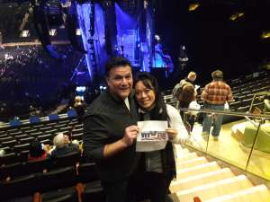 Gary attended Cher: Here We Go Again Tour on Dec 4th 2019 via VetTix