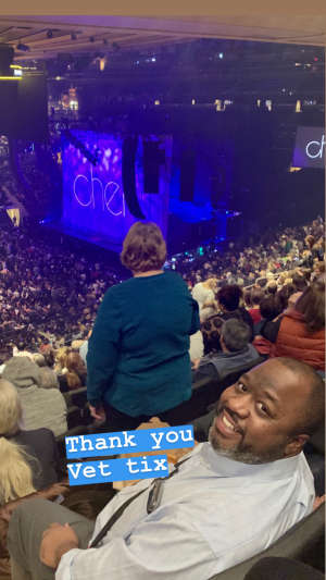 Lestiel attended Cher: Here We Go Again Tour on Dec 4th 2019 via VetTix