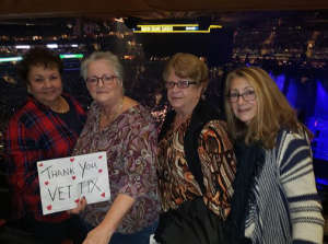RB Navy Veteran  attended Cher: Here We Go Again Tour on Dec 4th 2019 via VetTix